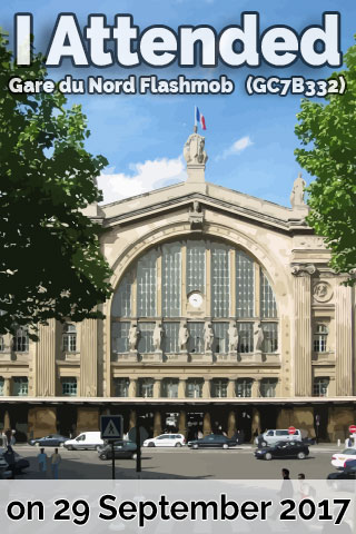 Gare du Nord Flashmob