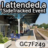 I attended SideTracked Malton - GC7F249