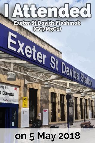 Exeter St Davids Flashmob