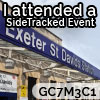 I attended SideTracked Exeter St Davids Flashmob - GC7M3C1